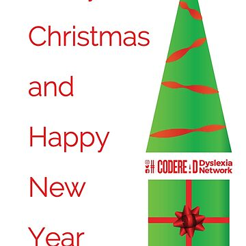 Merry Christmas - Dyslexia Awareness by CodeRead