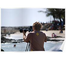 16mm Movie Maker - Quicksilver Pro - Snapper Rocks Poster