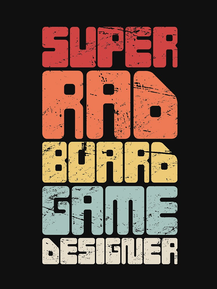 Board Game / Boardgame Designer - Retro by EMDdesign