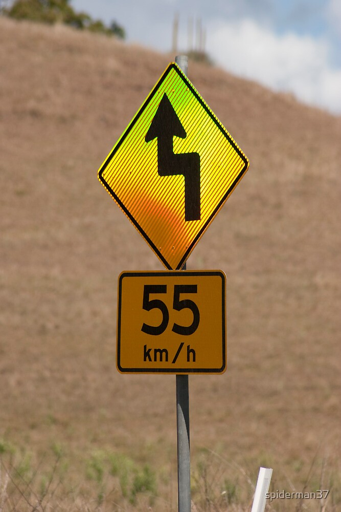 55 kilometers an hour by Anthony Wilson