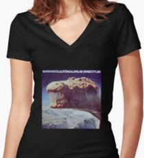 Blue oyster Cult Women's Fitted V-Neck T-Shirt