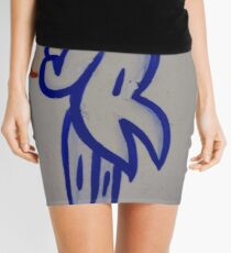 #blue #znamenski #sign #text #graffiti #symbol #art #label #colorimage #copyspace #typescript #retrostyle #nopeople #oldfashioned #wallbuildingfeature #square Mini Skirt