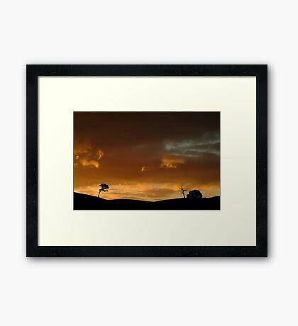 Pyrenees Sunset Framed Print