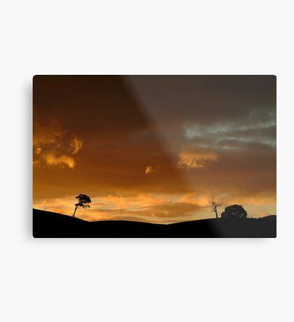 Pyrenees Sunset Metal Print