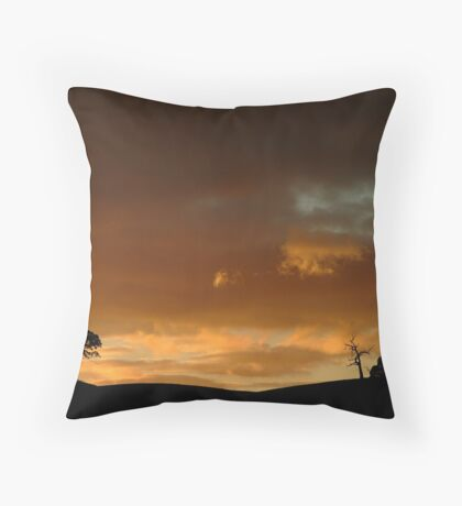 Pyrenees Sunset Throw Pillow
