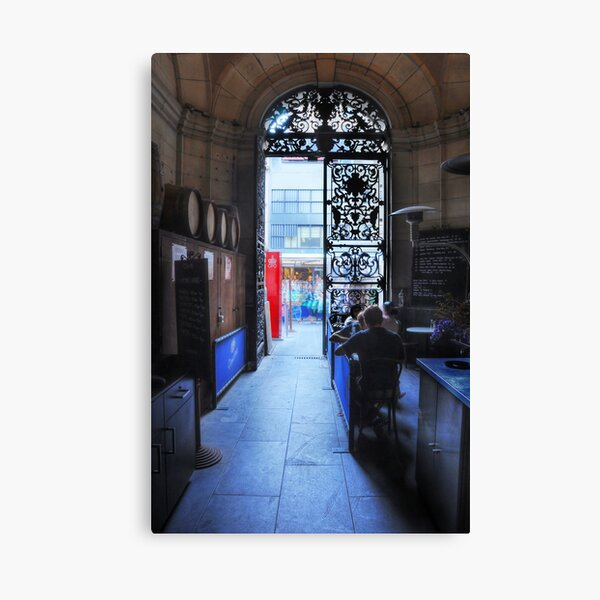 Gate to the Street Canvas Print