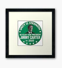 Jimmy Carter 2020 Framed Print
