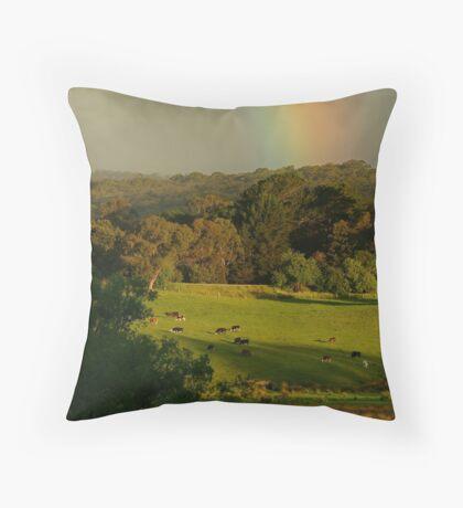 Late Light, Otway Farmlands Throw Pillow