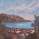 Budva mountain view by Vira Kalinovska