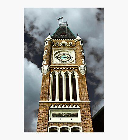 Towering Time - CBD, Perth, Western Australia Photographic Print