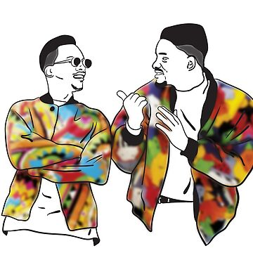 Jazzy Jeff and the Fresh Prince by MargyWargy