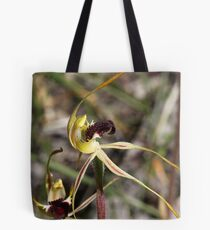 Spider Orchid Tote Bag