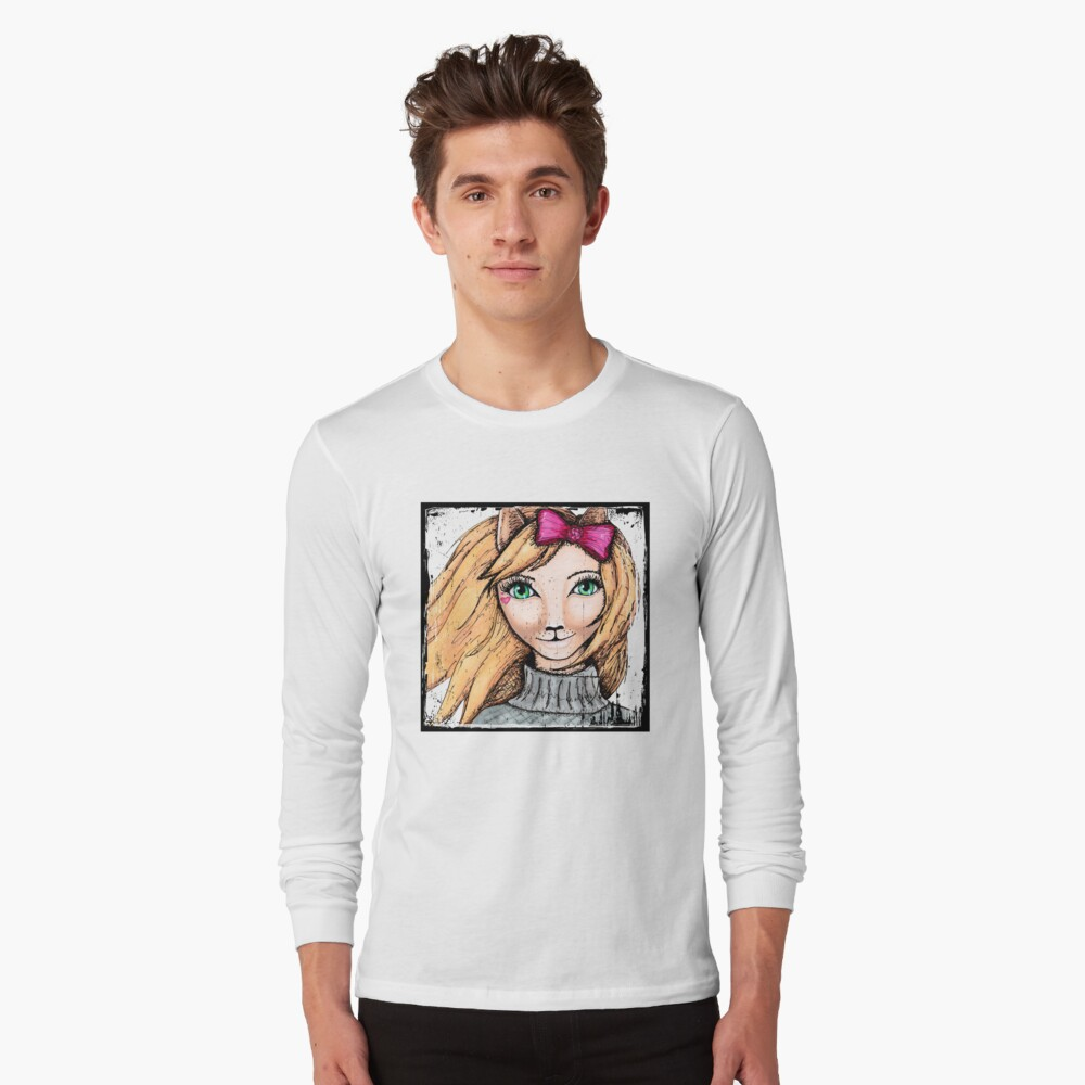 Cat Girl Long Sleeve T-Shirt