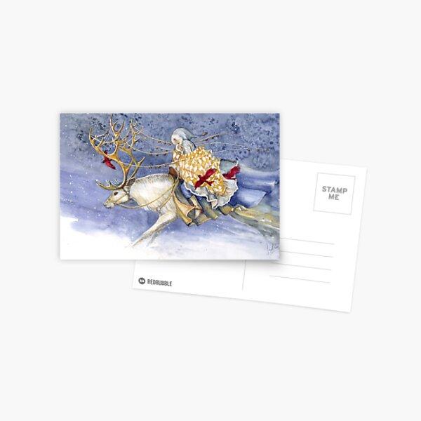 The Winter Changeling Postcard