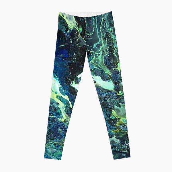 Arcane - Fluid Art/Acrylic Pour Leggings