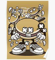 Dorayaki Burger Gangster Poster