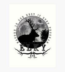 Inner Elky Art Print