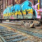 Railcar Graffiti HDR by Jigsawman