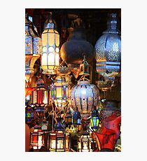 Light up your life (Marrakech, Morocco) Photographic Print