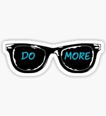 Casey Neistat Sunglasses - DO MORE - Blue Sticker