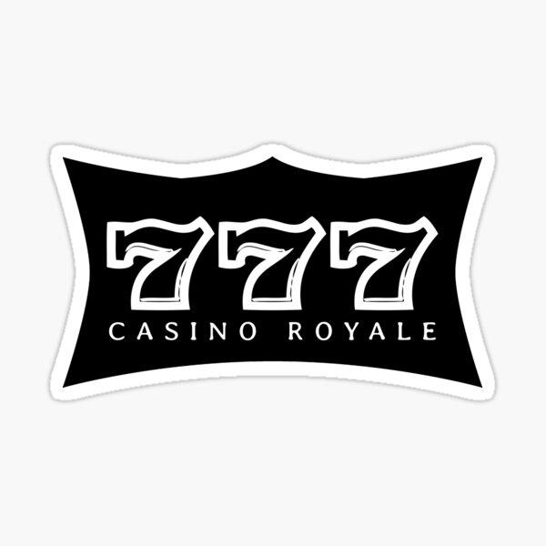 777 - CASINO ROYALE (b) Sticker