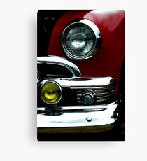 Red with Style Canvas Print