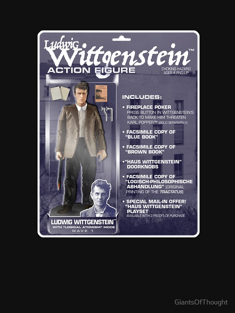 Ludwig Wittgenstein Action FIgure by GiantsOfThought