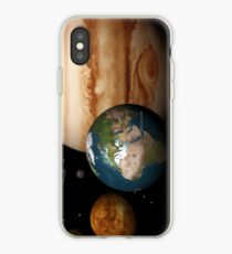 Neighboring Planets - Macrocosmos iPhone Case