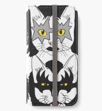 Cats Kiss iPhone Wallet/Case/Skin