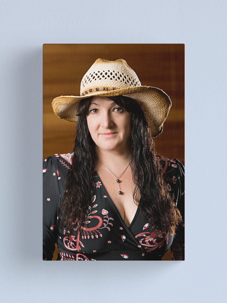 Alternate view of My Cowgirl. Canvas Print