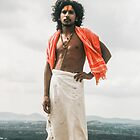 Hindu Pilgrim by indiafrank