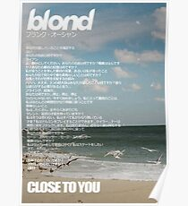 close to you ocean - Poster