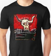 Cabra Basquiat bull skull contemporary art lover artist painter gift t shirt Unisex T-Shirt