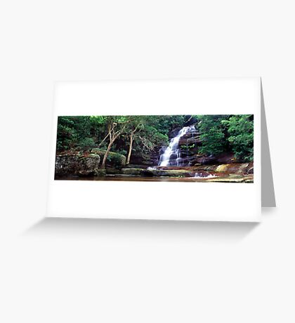 Somersby Falls, NSW Greeting Card