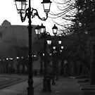 Lamps of Alghero by Christine Oakley
