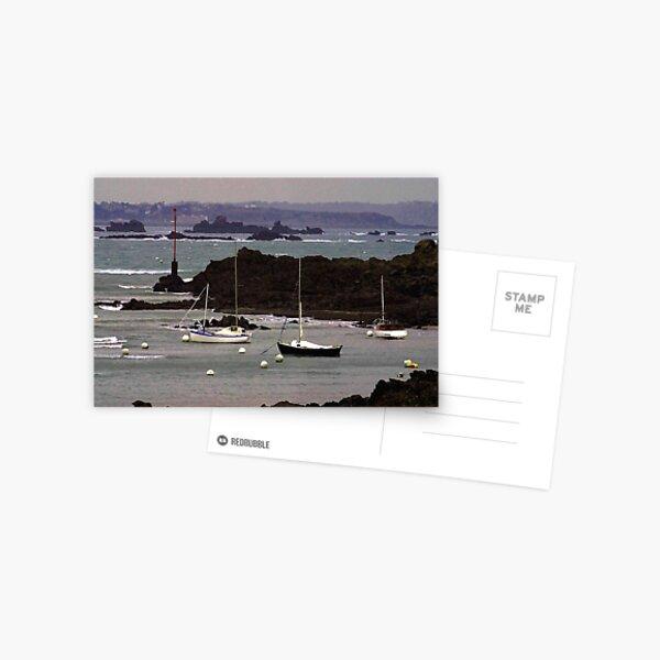 St Briac#a Postcard