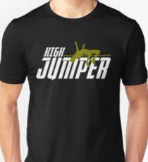 Hochspringer Hochsprung Stabhochsprung Geschenk Unisex T-Shirt