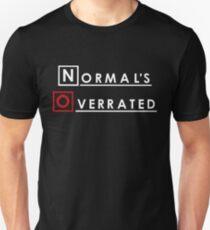 Normales - Normal wird überbewertet Slim Fit T-Shirt