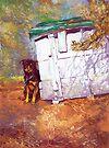 Kennel Day - Australian Kelpie by Pieter Zaadstra