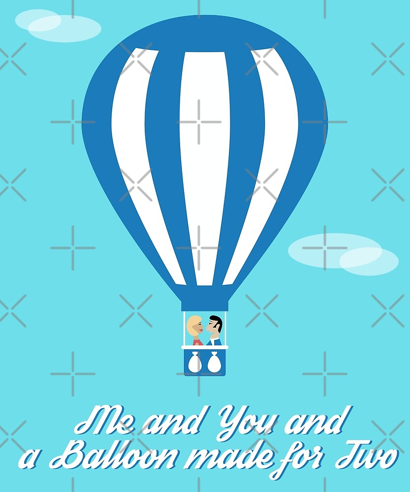 Me and You and a Balloon Made for Two by designkitsch