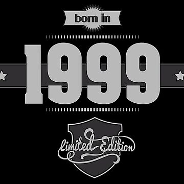 Born in 1999 (Light&Darkgrey) by ipiapacs
