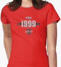 Born in 1999 (Light&Darkgrey) Women's Fitted T-Shirt