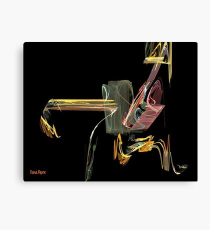 Where Is Wily Coyote? Canvas Print