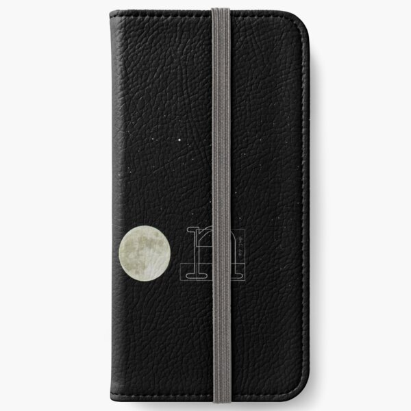 shine like the moon iPhone Wallet