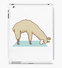 Alpaca Llama Yoga Sport Funny Gymnastics Gymnastic iPad Case/Skin