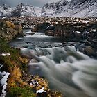 The Fairy Pools flowing. by Claire Walsh