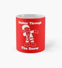 Santa Dabbin Through The Snow Mug