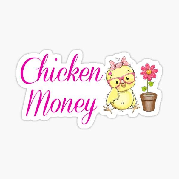 Chicken Money Sticker