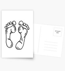 Füße - Print Postkarten