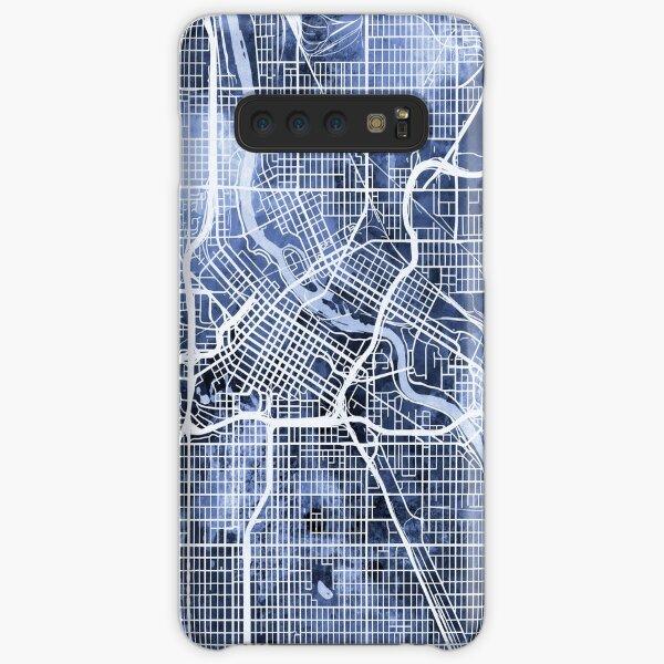 Minneapolis Minnesota Stadtplan Samsung Galaxy Leichte Hülle